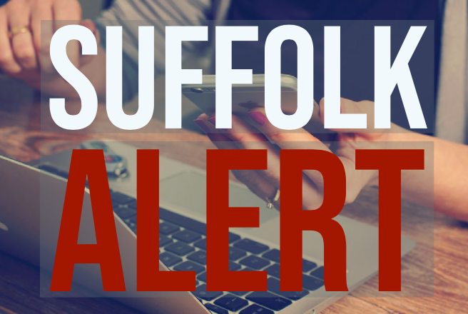 Graphic for Suffolk Alert Notifications - go to the SuffolkAlert Notifications web page