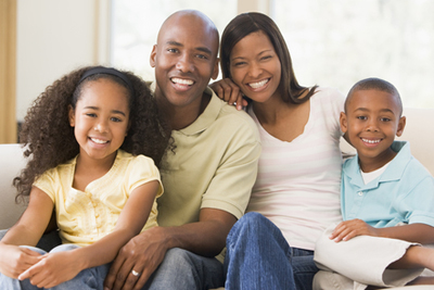 picture of an African-American Family
