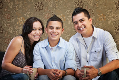 picture of Latin-American Family