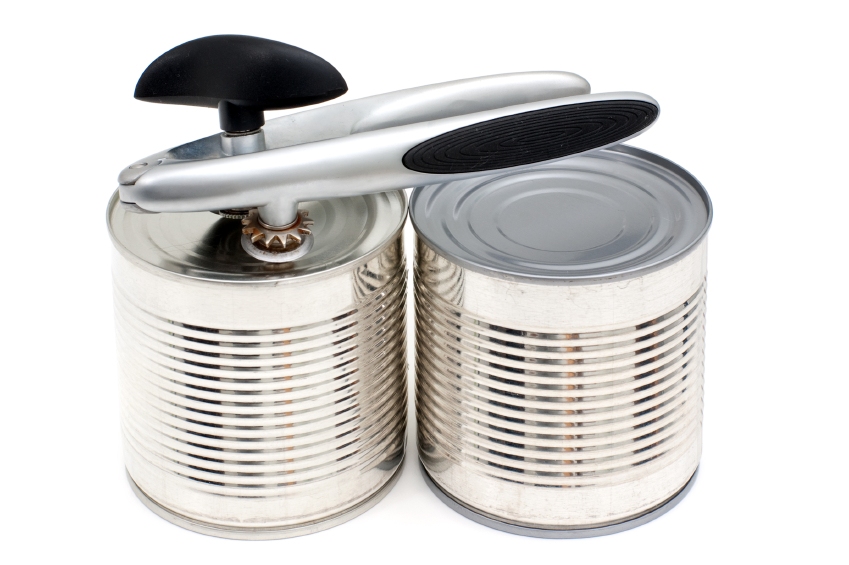 picture of a can opener an essential part of your emergency supply kit