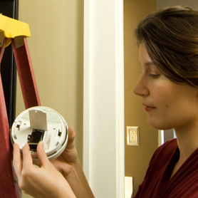 Click here to learn about Smoke Alarms