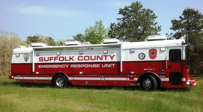 Picture of the Major Suffolk County Emergency Response Vehicle