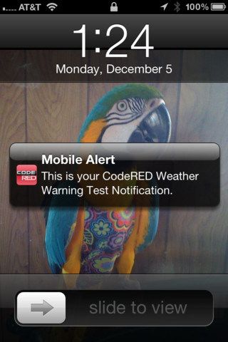 Image of the Code Red Mobile