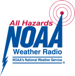 Click here to learn more about the NOAA Weather and All Hazards Radio.