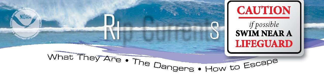 Graphic on Rip Current Safety