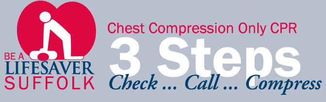 Take Heart Suffolk County Image - Learn Chest Compression only CPR