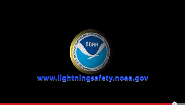 Graphic from National Weather Service Lightning Safety Awareness video - Go to the video