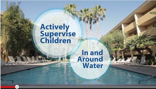Constant supervision is an important step to ensure safety around pools and spas