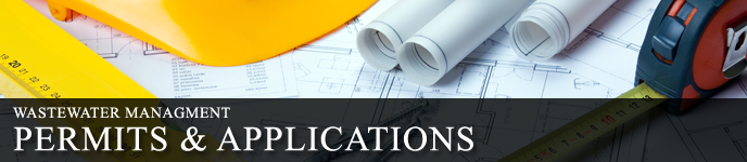 Wastewater Management Permits and Applications